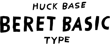 HUCk BASE BERET BASIC TYPE